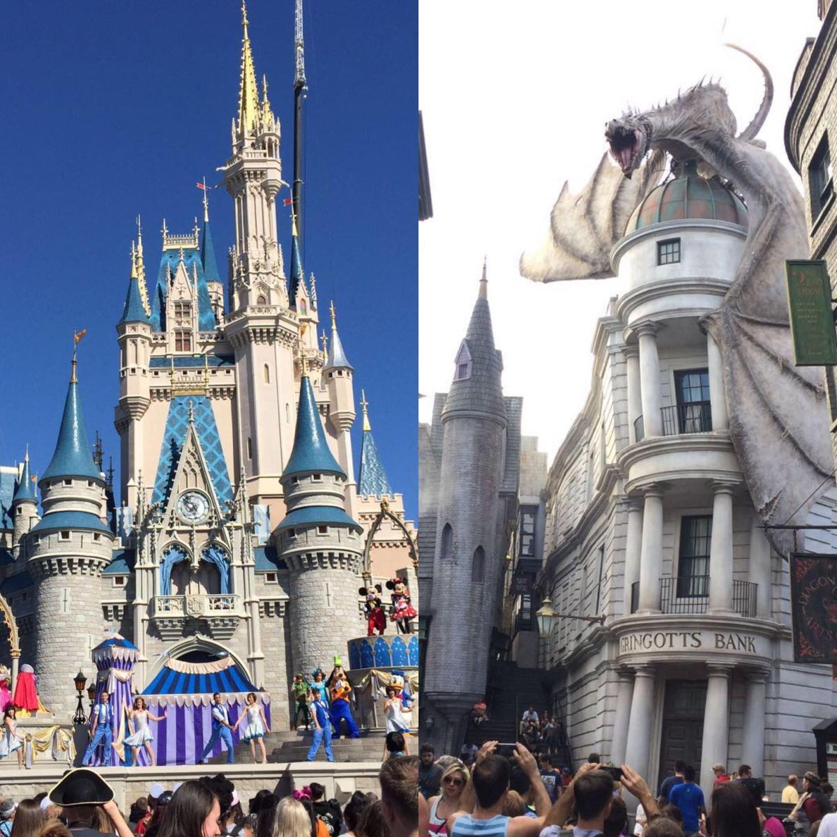 Itinerario para Disney World y Universal Studios